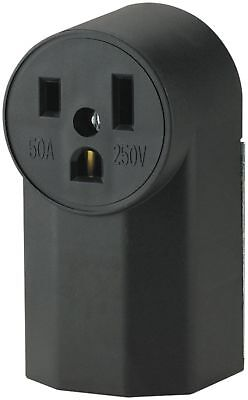 The Eaton WD1252 2-Pole 3-Wire 50-Amp 125-Volt Surface Mount Power Receptacle
