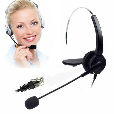 VH530 Call Center Telephone/IP Phone Headset w/ Mic 4pin RJ9 Head Connector