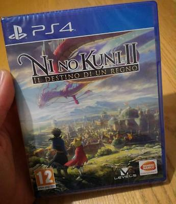 Ni No Kuni 2 Il Destino Di Un Regno Ps4 Nino Kuni Play Station 4 Pal Ita