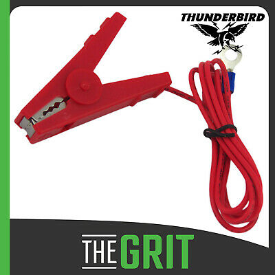Thunderbird Red Fence Lead Ring End Electric Fence Energiser Replacement EF172