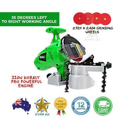 Electric Chainsaw Sharpener Tool 320W Swarts Chain Saw Grinder File Pro
