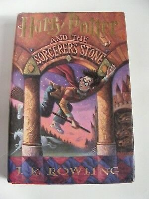 Harry Potter and the Sorcerer's Stone by JK ROWLING - First Am. Edition Oct 1998