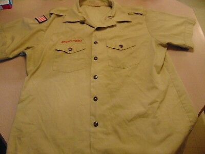 Boy Scout  BSA Pre-Centenial Uniform Short Sleeve Shirt - Size Mens XL