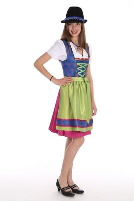 ISAR Trachten Dirndl Girl Size 164 US 14 Youth Baumwolldirndl Dress Costume 2 PC
