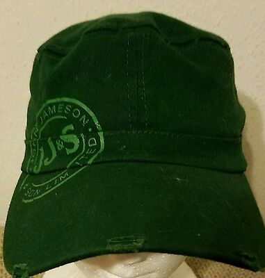 John Jameson & Son Ltd Irish Whiskey Distressed Adjustable Flex Fit Cap