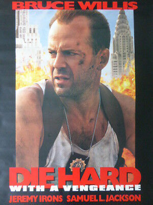 DIE HARD with a Vengeance movie poster - RARE !!!