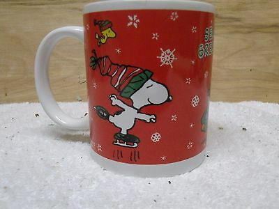 Snoopy And Woodstock Season's Greetings Coffee Cup / Mug ( 2011 )