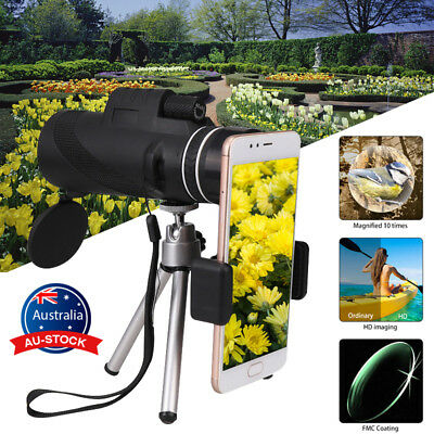 Portable 40X60 Zoom Optical Lens Camera Monocular Telescope For iPhone Sony HTC