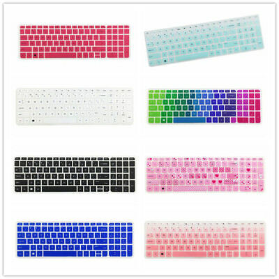 Keyboard High invisible Protector Skin Cover For HP 15.6 inch BF Laptop PC