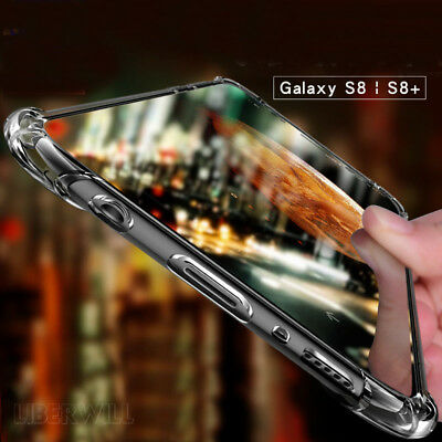 For Samsung Galaxy S9/S8/Plus/Note 8 Ultra Thin Crystal Clear Hard Phone Case
