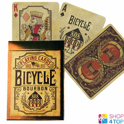 Bicycle Bourbon 808 Proof Playing Cards Deck Kentucky Whiskey Made In Usa New