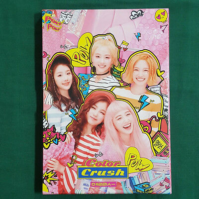 [Pre-Owned/ No Photocard] Elris 2nd Mini Album Color Crush - CD/ Booklet