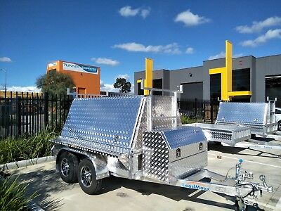 All aluminium builders trailer 8x5 from Loadmaxx Trailers
