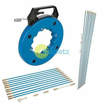 Cable Access Kits Kit 1 M 330 Mm Fish Tape 15m 30m Electricians Push Pull Rod