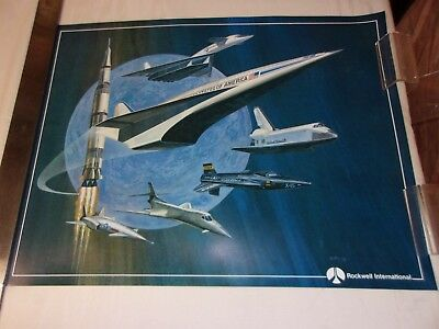 Poster - Rockwell Tradition In High Performance Aerospace Vehicles / X-30...