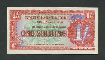 BRITISH ARMED FORCES  1s 1948  2nd series  Krause M18a  EF  Banknotes