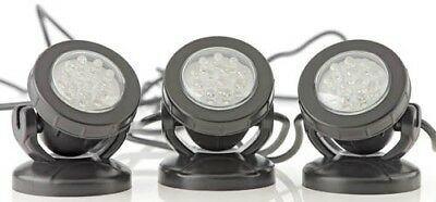 Pontec PondoStar LED Lighting Set of 3 Underwater & Garden