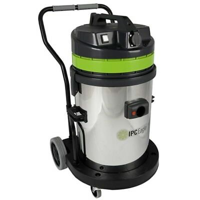 IPC Eagle S6429S-H 400 Series Steel HEPA Critical Filtration Vacuum with Two Mot
