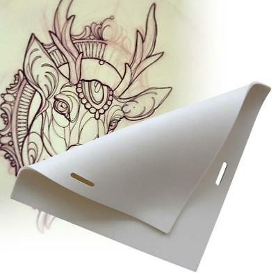 1pc Tattoo Practice Skin Blank Plain For Needle Machine Supply Dual Side Use  AC