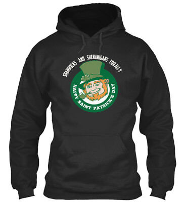 In style Funny St Paddys Day S And - Shamrocks Standard College Hoodie