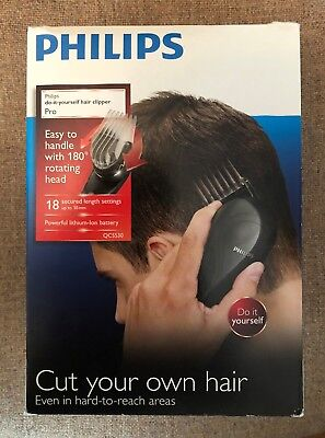 Philips do it yourself hair clipper with 180 degree rotating head philips qc5530 pro do it yourself hair clipper 180 degree rotating head boxed solutioingenieria Choice Image