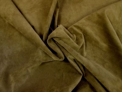 Fine pigskin suede Moss green pig suede H383  BARKERS LEATHERCRAFT HIDES