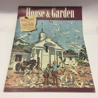 House & Garden Magazine August 1939 - Free Shipping