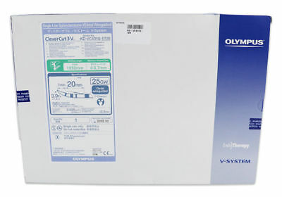 OLYMPUS KD-VC431Q-0720 Clever Cut V Single Use Sphincterotome V 3.7 x 1950mm NEW