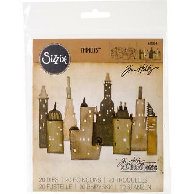 "SALE! Tim Holtz Thinlits Dies by Sizzix - ""TRAVELER WORDS"" 27 Dies CARDS"