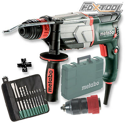 METABO Kombihammer KHE 2860 Quick [SET 10-TEILIG] Art.Nr 600878500 4007430306609