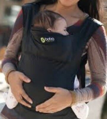 Boba Air Lightweight Infant Toddler Baby Carrier—Black, Excellent Used Condition