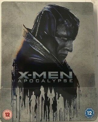 X-Men: Apocalypse - Limited Edition Steelbook Blu-ray (Includes 2D and 3D)