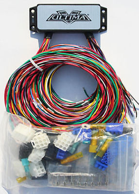 Ultima Plus Complete Electronic Wiring Module Harness For Harley & Customs