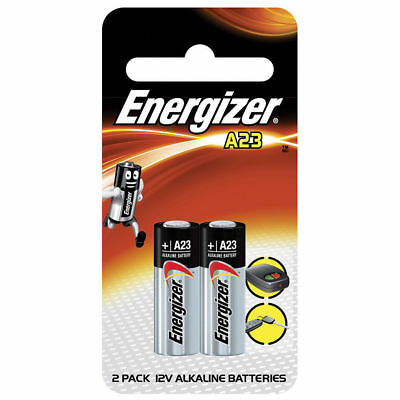 Energizer A23 Alkaline 12V Battery GP23A LRV08 Pack of 2