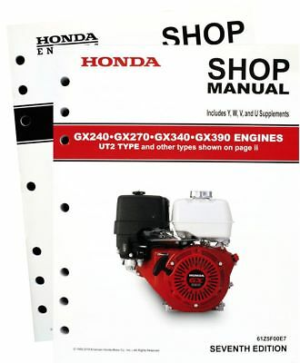 honda gx360 engine service repair shop manual 38 95 picclick rh picclick com honda gx340 shop manual free download honda gx340 shop manual free download