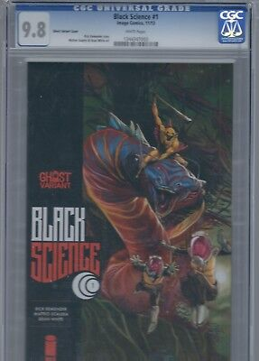 Black Science #1 Rare Ghost Variant CGC 9.8