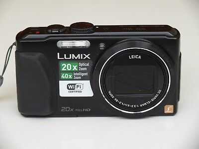 Panasonic LUMIX DMC-TZ41 18,1 MP Digitalkamera - Schwarz
