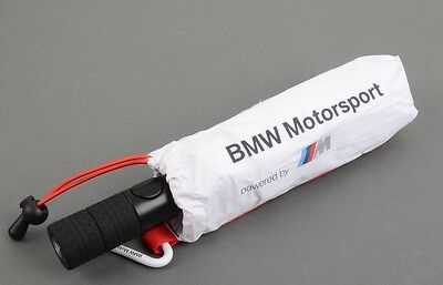 GENUINE BMW White M Motorsport Folding Pocket Umbrella 80232285874 Accessories