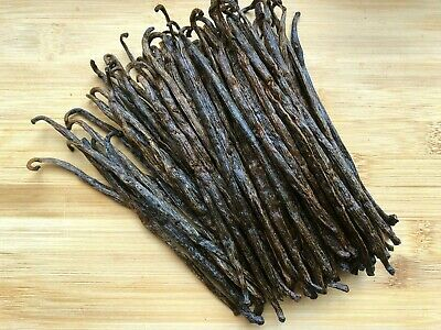 Madagascar Bourbon Vanilla Beans-Grade A/B - Great for Extraction & Baking