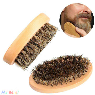 Cepillo de cerdas de barba Beard Brush Naturales para Hombres Barba Cepillo.