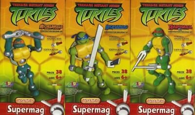 SUPERMAG 3x TURTLES - NEU