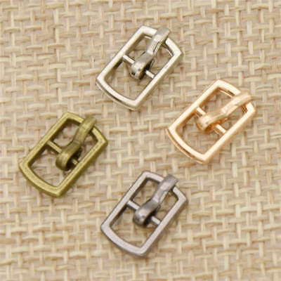20 Pcs Mini Buckles Arts Crafts for Shoe Belt Sewing Doll DIY Toy Accessories