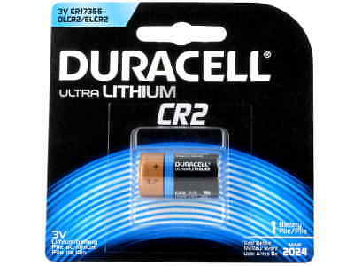 Lot of 4! Duracell DLCR2BU Ultra High Power Lithium Batteries CR2 3V