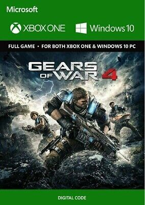 Gears of War 4 Xbox One/PC - Digital Code Global **FAST DELIVERY**