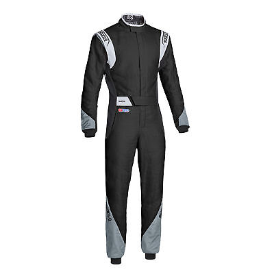 SUIT SPARCO R540 EAGLE RS-8.2 Tg.54 COLOR BLACK/GREY/SILVER