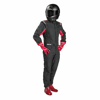 SUIT SPARCO R548 SPRINT RS-2.1 T Tg.58 COLOR BLACK/RED