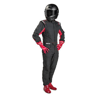 SUIT SPARCO R548 SPRINT RS-2.1 T Tg.50 COLOR BLACK/RED