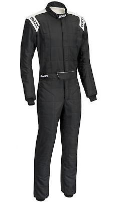 Suit Sparco R-506 Conquest Tg.58 Color Black/white