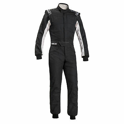 SUIT SPARCO R548 SPRINT RS-2.1 T Tg.54 COLOR BLACK/WHITE