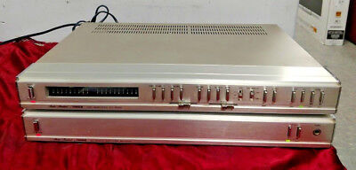 Fisher Cc-9000 Preamp And Fisher Ba-9000 Power Amp Very Rare Fully Tested